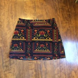 H&M- Coachella Collection skirt. Size 12